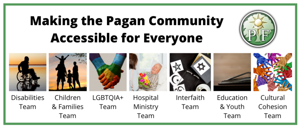 Making the Pagan Community Accessible with the Pagan Federation Community Support Team
